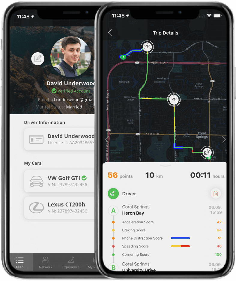Open-source safe-driving app