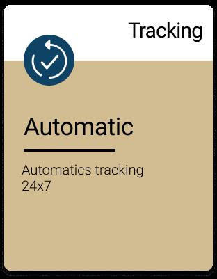 Automatics tracking